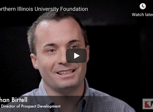 Northern Illinois University Foundation Customer Testimonial with Advizor