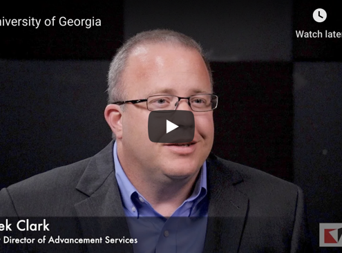 University of Georgia Customer Testimonial with Advizor