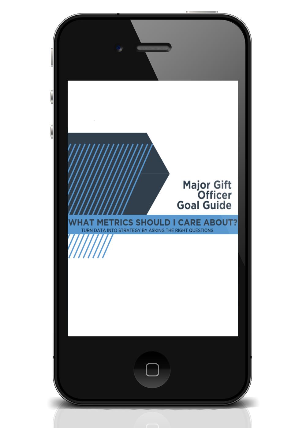 Major Gift Officers Guide