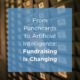 Fundraising and artificial intelligence